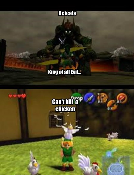 link,video games,video game logic
