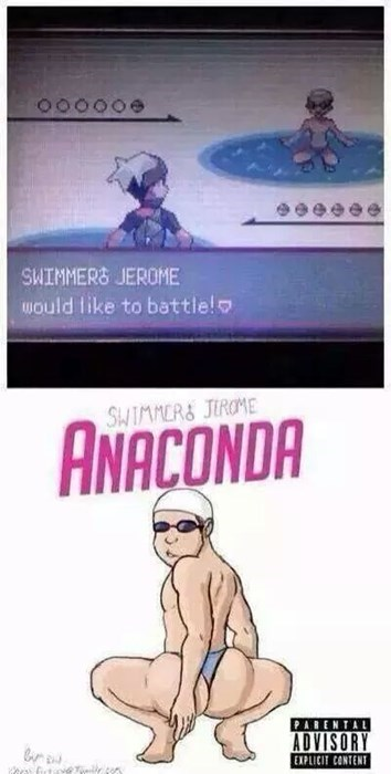 Pokémon anaconda swimmer jerome - 8335199744
