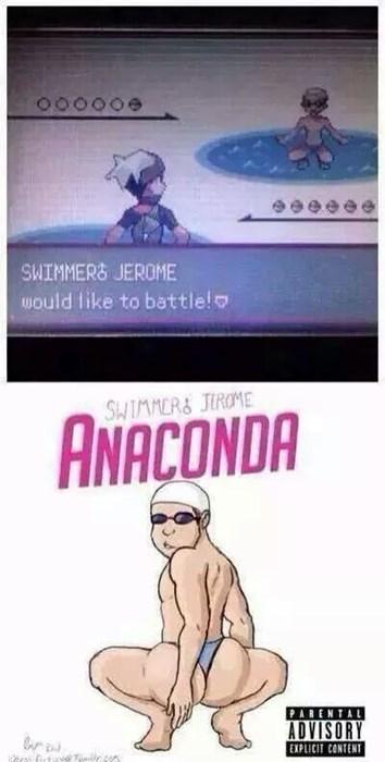 Pokémon anaconda swimmer jerome - 8335199744