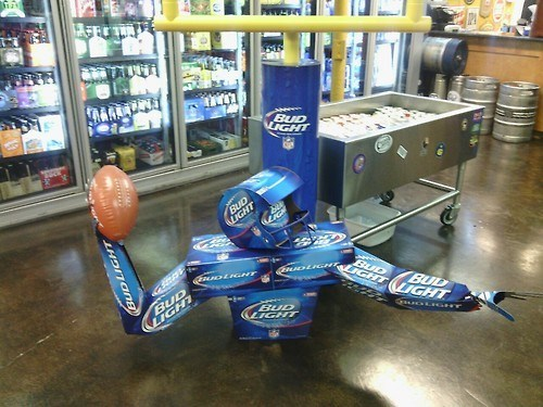 beer budweiser football funny store - 8335520512