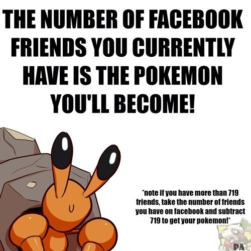 games Pokémon friends facebook - 8335810304