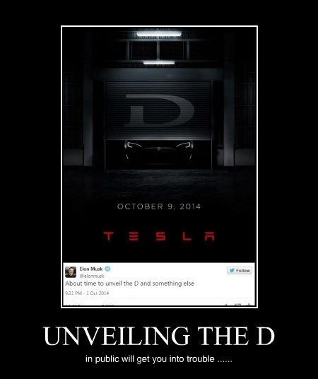 THE D tesla funny - 8335830528