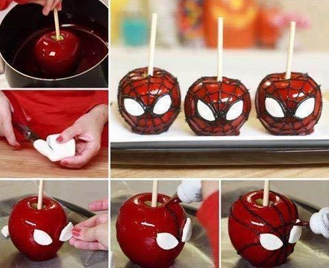 Sweet Treats,halloween,Spider-Man,noms
