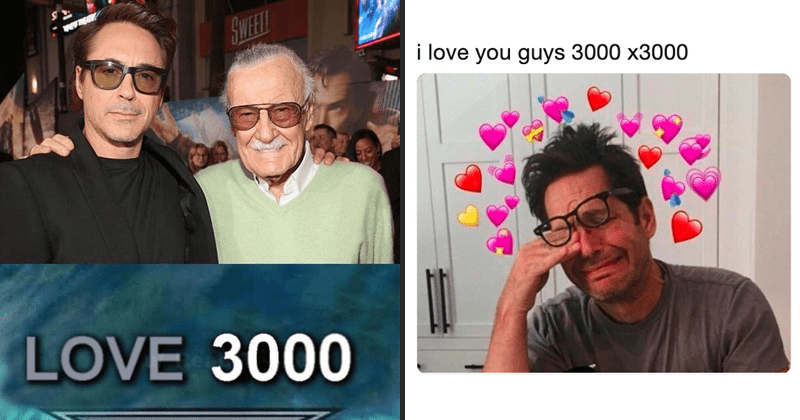 "I love you 3000, morgan stark, emotional, emotional twitter reactions to ""i love you 3000."""