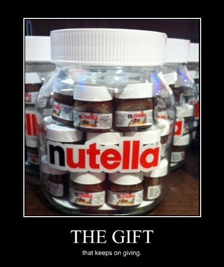 awesome gift nutella funny - 8335996672
