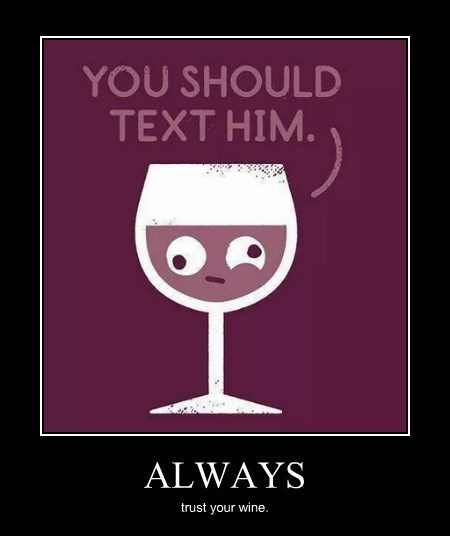 drunk funny wine text