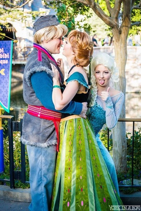 cosplay disney frozen - 8336044288