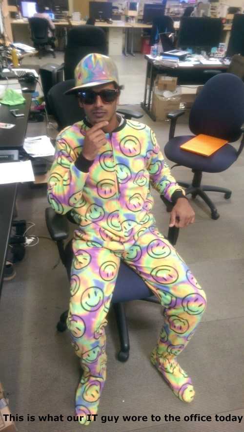 colorful,monday thru friday,onesie,poorly dressed,g rated
