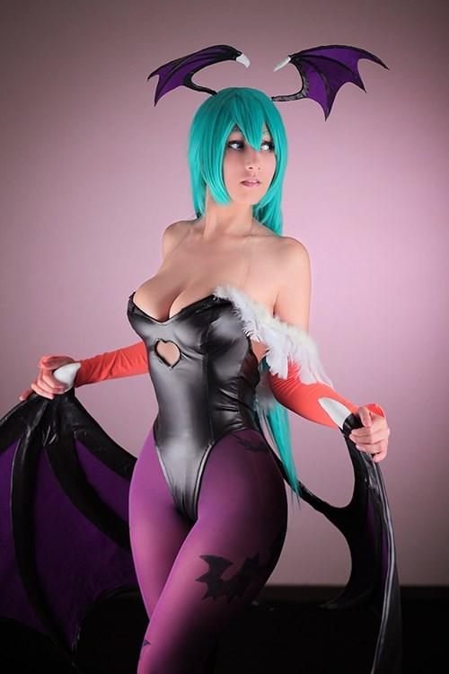 cosplay morrigan Darkstalkers - 8336090624