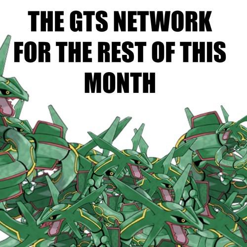 Pokémon,GTS,trading,rayquaza