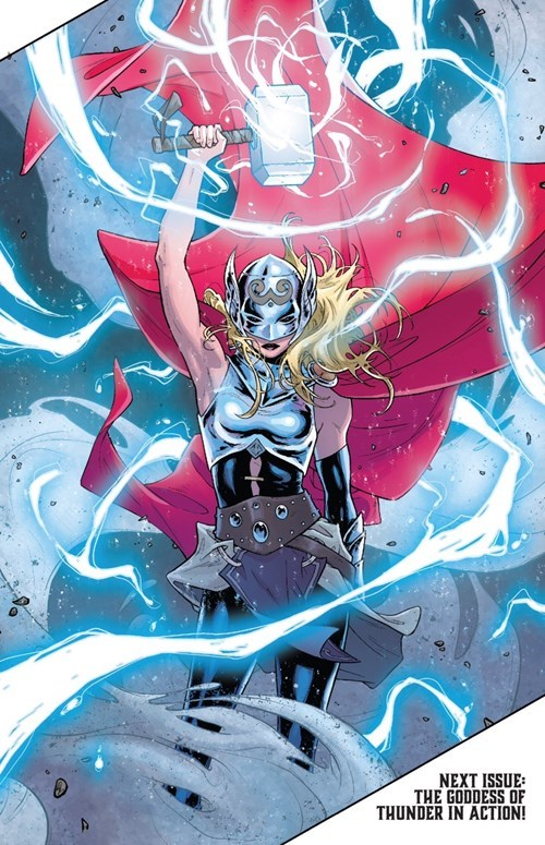 Thor Straight off the Page lady thor - 8336127488