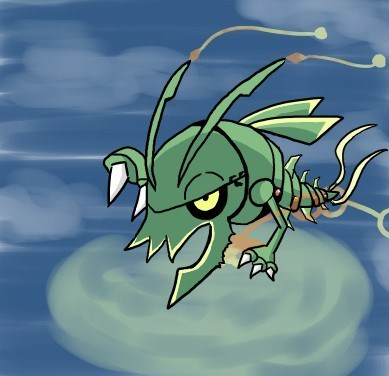 Pokémon mega rayquaza - 8336156928