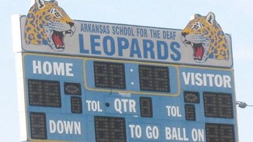 mascot deaf leopard high school - 8336172032