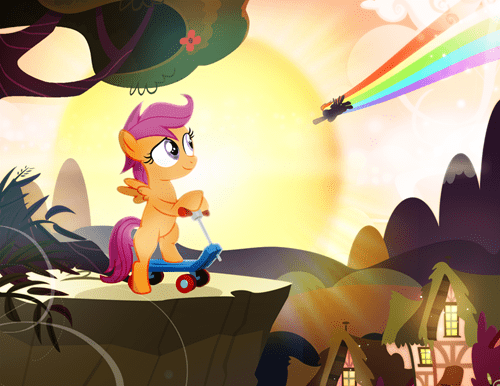 Fan Art chicken Scootaloo - 8336249856
