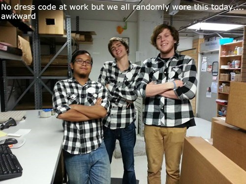 matching plaid monday thru friday poorly dressed - 8336373504
