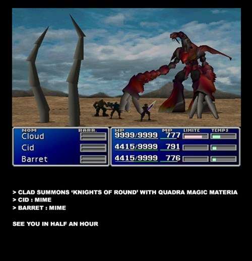 final fantasy final fantasy VII ruby weapon summons - 8336798976