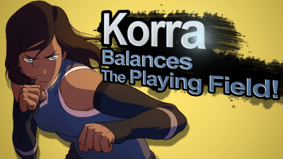 Avatar korra super smash bros - 8336934656