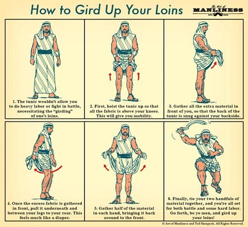 Be a Man and Gird Your Loins