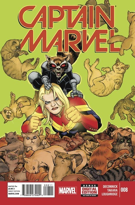 captain marvel Straight off the Page rocket raccoon - 8336966656