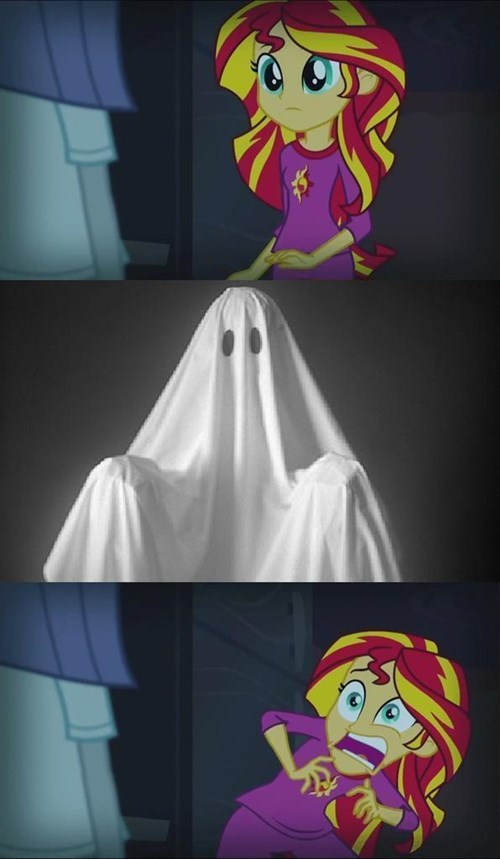 ghost sunset shimmer spoopy sunset - 8337119744