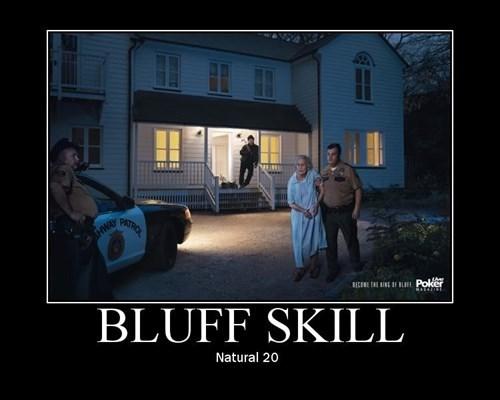 bluff cops d&d funny poker face d&d - 8337123840
