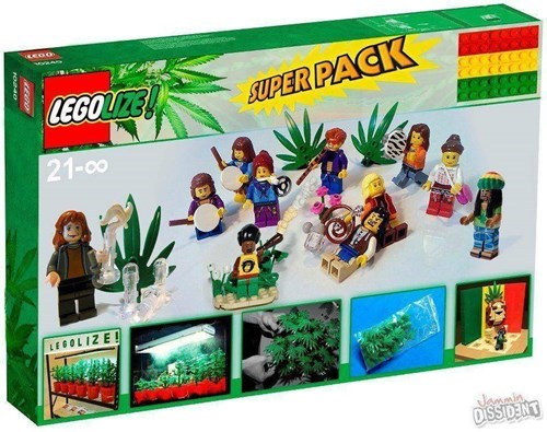 awesome,lego,funny,high,Legalize It,after 12