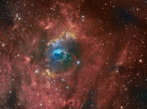 Astronomy awesome bubble nebula - 8337263360
