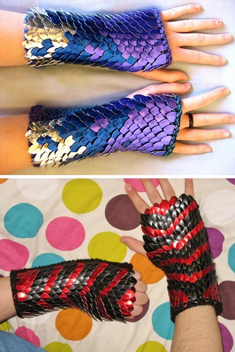 crafts gloves knitting scale - 8337297664