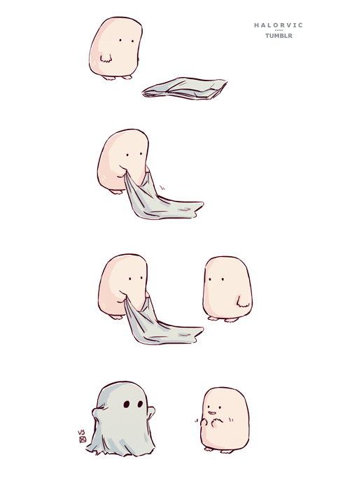adipose halloween ghosts - 8337358592