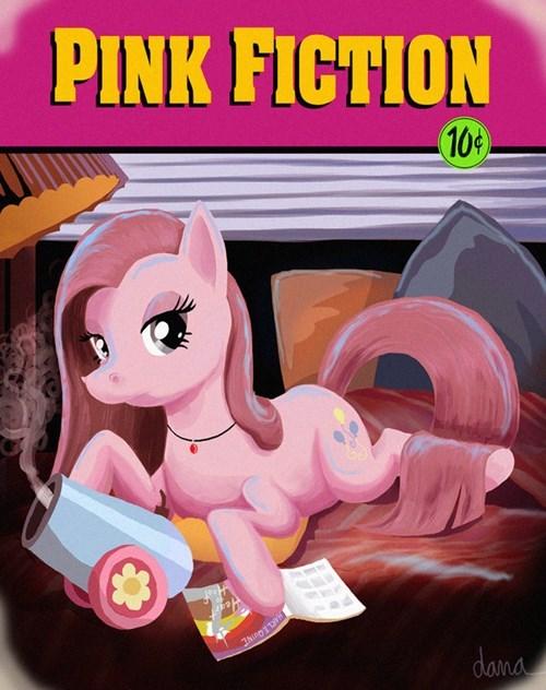 Fan Art,pinkie pie,pulp fiction