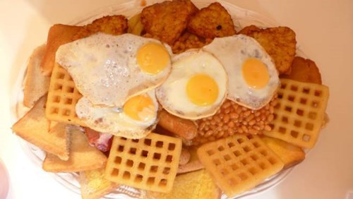 Challenge Accepted food breakfast - 8337408256