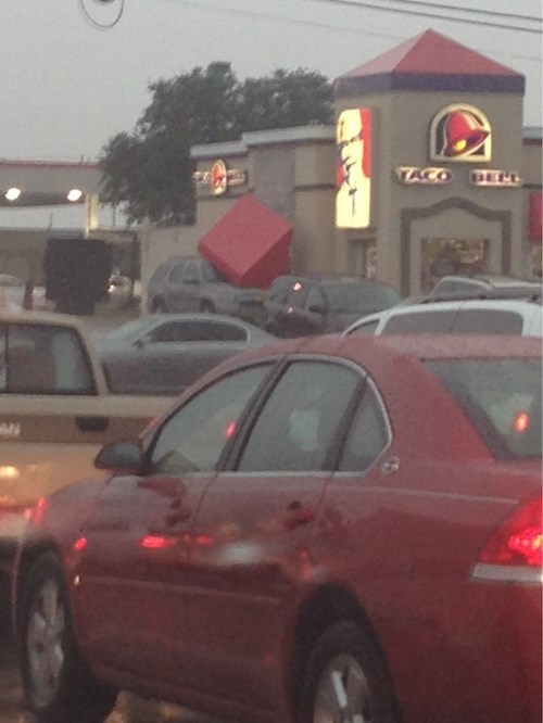 cars,fast food,irony,sign