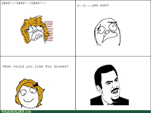 mom,yelling