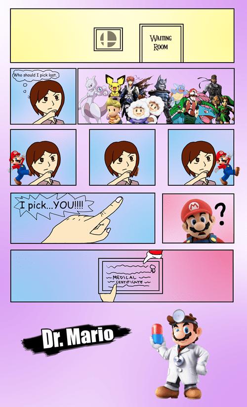 clones,Dr Mario,super smash bros,sakurai