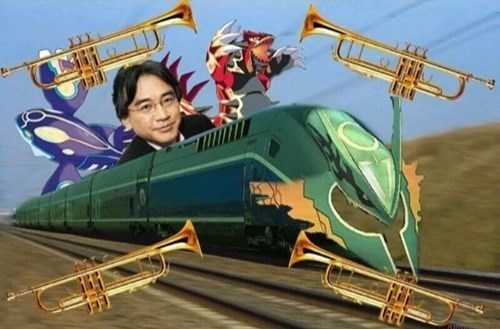 The hype train is all set
