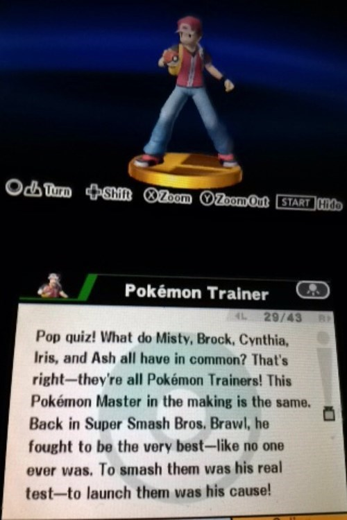 super smash bros pokemon trainer - 8338048512