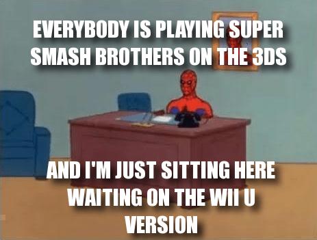 3DS Memes super smash bros wii U - 8338060800