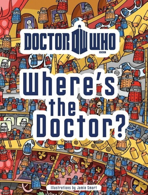 12th Doctor books wheres waldo - 8338194176