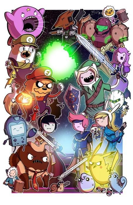 adventure time Fan Art video games - 8339071488