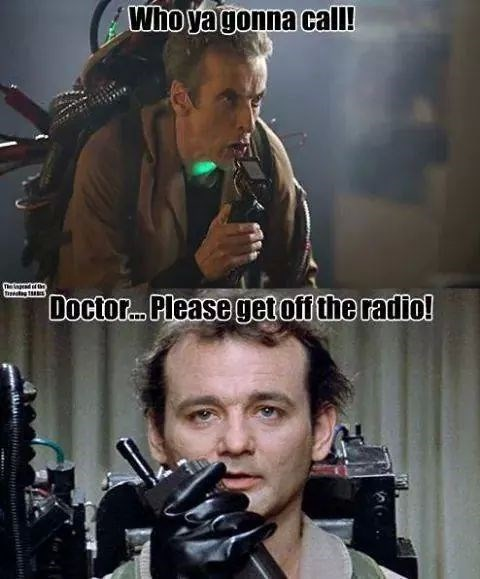 12th Doctor bill murray Ghostbusters - 8339260160