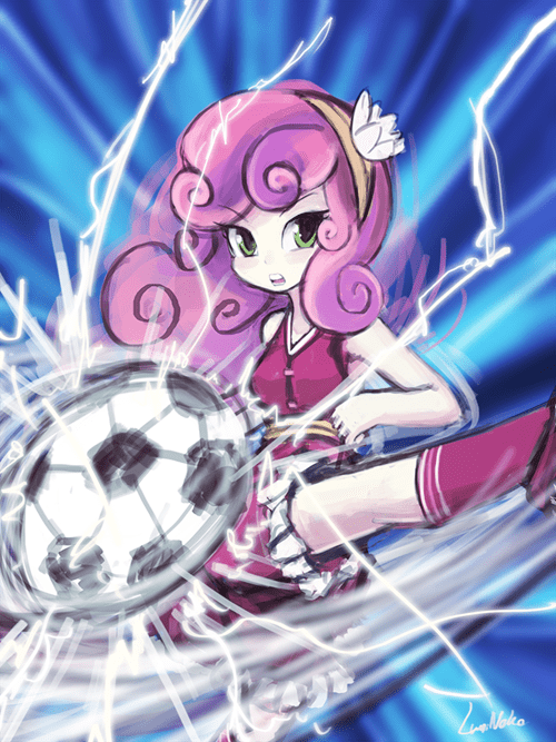 Fan Art Sweetie Belle soccer - 8339267584