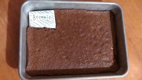 brownies seems legit - 8339269632