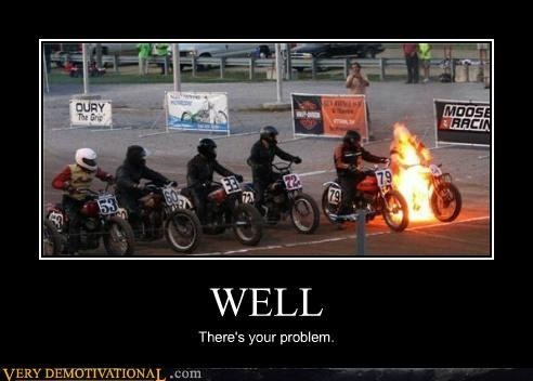 fire motorcycle funny wtf - 8339316480