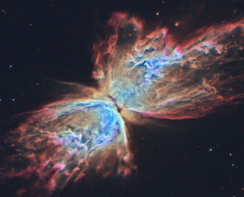 Astronomy butterfly science nebula - 8339325440