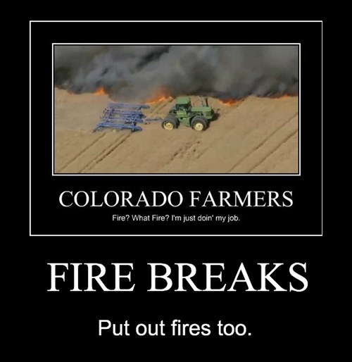 Colorado,fire,funny,fire breaks