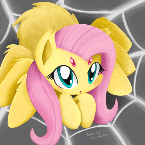 Fan Art spider fluttershy - 8339510016