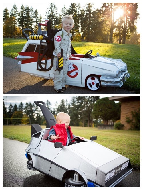 80s costume back to the future kids Ghostbusters parenting the eighties halloween g rated - 8339688704