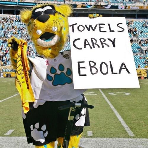 nfl ebola football jacksonville jaguars - 8339690752
