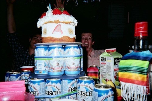 cake beer awesome funny - 8339824384