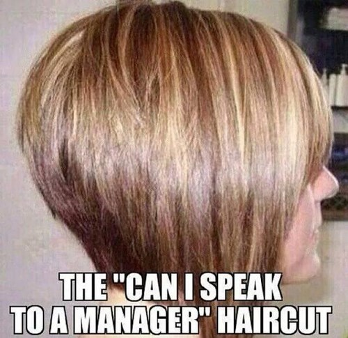 monday thru friday manager poorly dressed haircut g rated - 8339848960